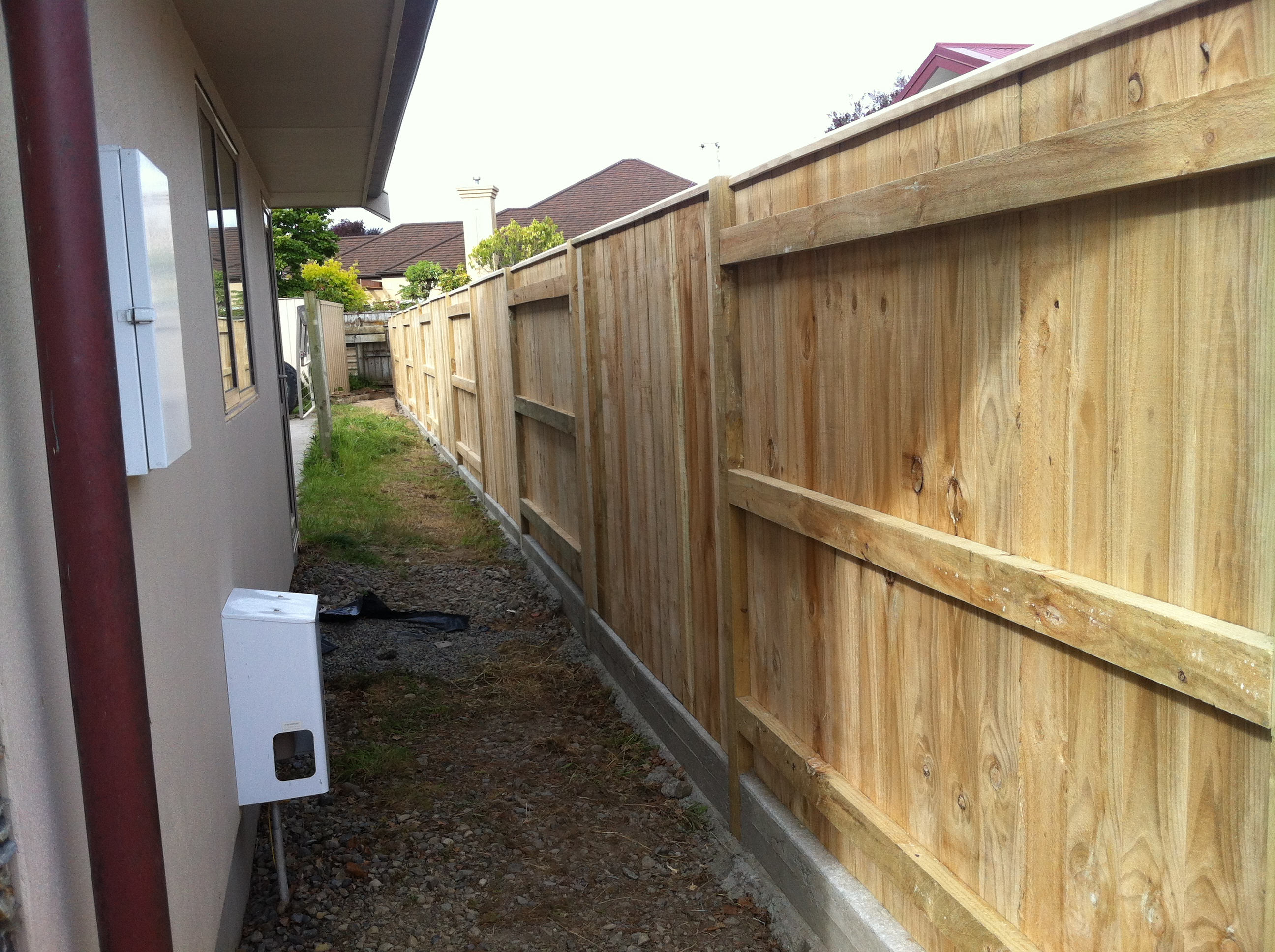 Palmerston North fence builder